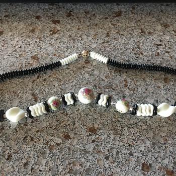 Czech glass beads maybe? - Costume Jewelry