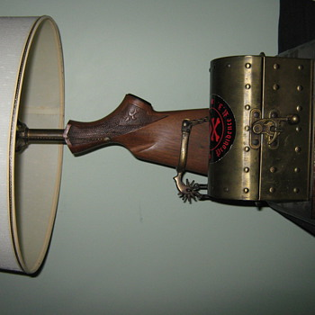 Country Western Style Lamp - Lamps