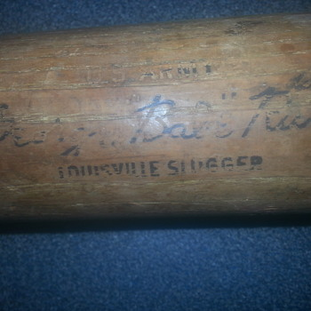 George Babe Ruth bat