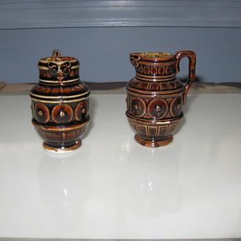 Falcon Faced - Geometrics  Minitures - Pottery