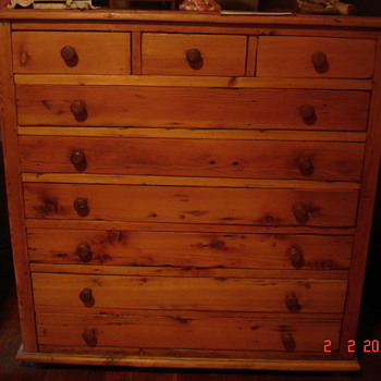 ?CAPE DUTCH CHEST OF DRAWERS - Furniture