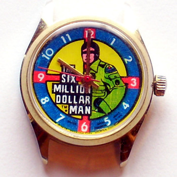 1974 Six Million Dollar Man Mechanical Watch - Wristwatches