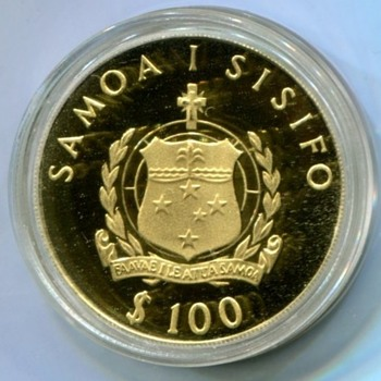 Western Samoa, Dr. Wilhelm Solf and NCLT - World Coins