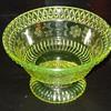 Vaseline Glass Bowl