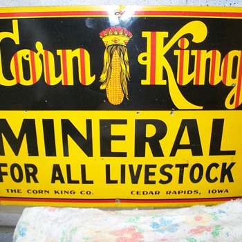 corn king sign - Signs
