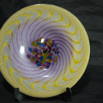 Art Glass Plate - Art Glass