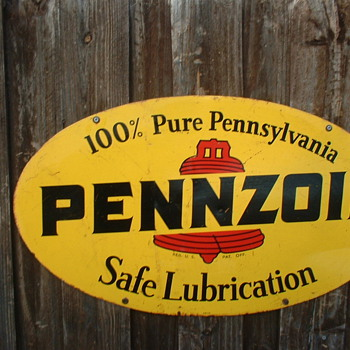 Pennzoil Oval  - Signs