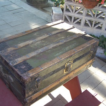 Early 1900's Trunk - Furniture