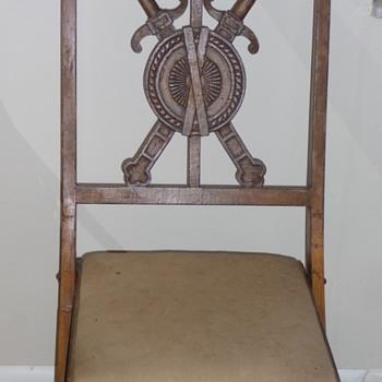 My Antique Oak Folding Chair - Furniture