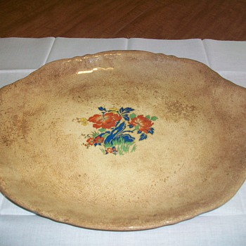 My Homer Laughlin oval serving platter - China and Dinnerware