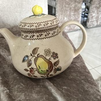 Johnson Bros teapot - China and Dinnerware