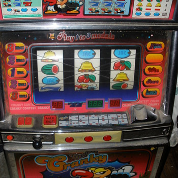Token slot machine - Coin Operated