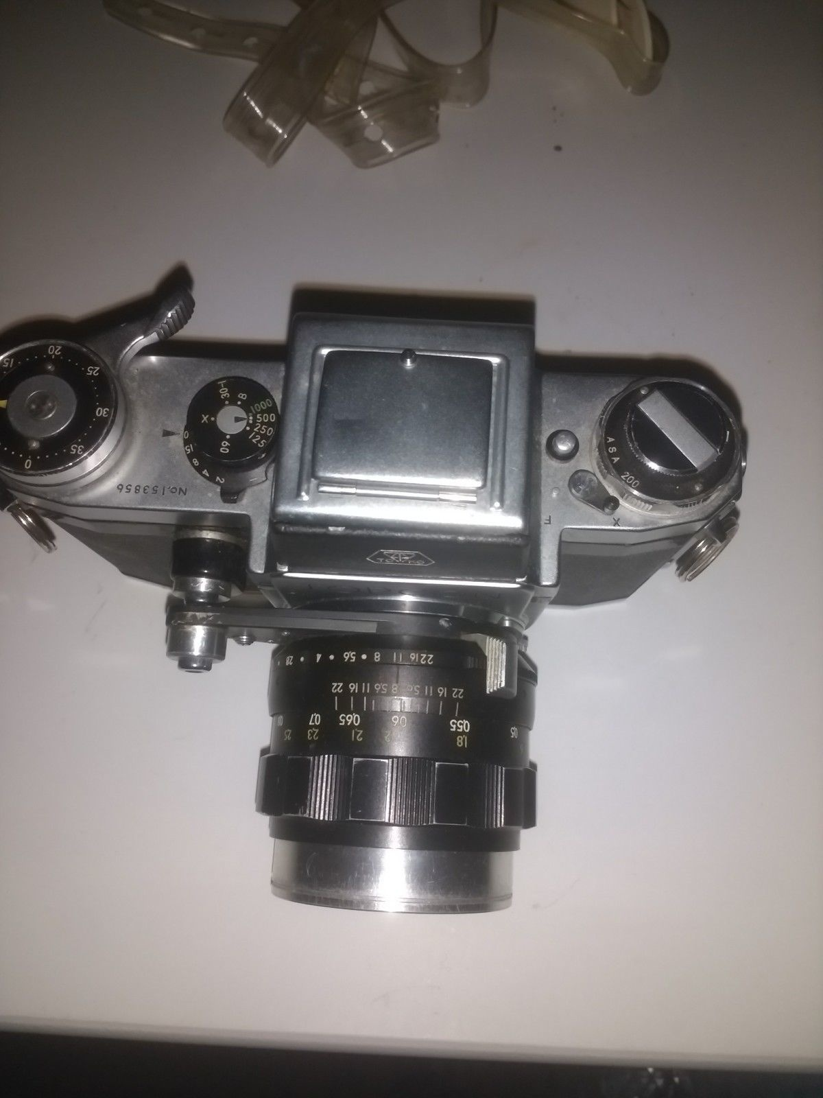 TOPCON 1957 The First SLR Film Camera That The Company