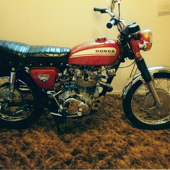 1970 honda cl 450 - Motorcycles