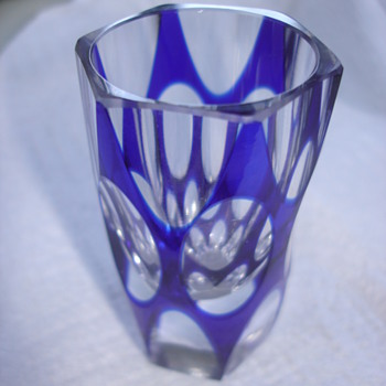 Colbat blue shot glass  I need Help with Maker Thank you! - Art Glass