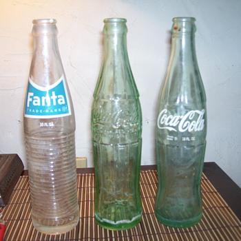 coke/ fanta / - Bottles