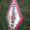 Diamond gas station sign?