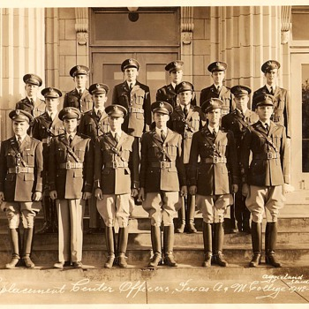 Texas A & M 1942-43 Replacement Officers  - Photographs