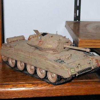 Tamiya Crusader III Tank 1/35th Scale - Military and Wartime