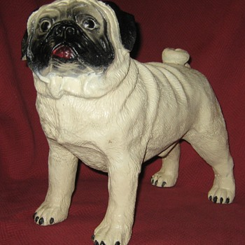 Life Size Pug  - Animals