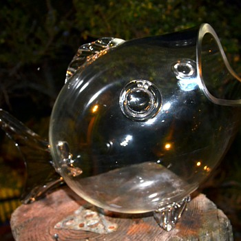 Huge Glass Fish Bowl? - Art Glass