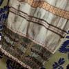 antique cloth curtain or skirt