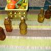 Small Amber Glass Bottles