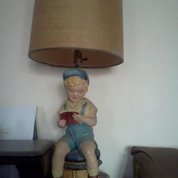 Little Boy Lamp  - Lamps