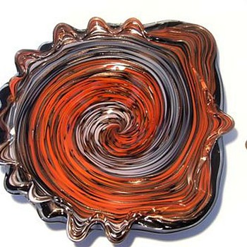 Fratelli Toso -- Murano Art Glass Bowl - Art Glass