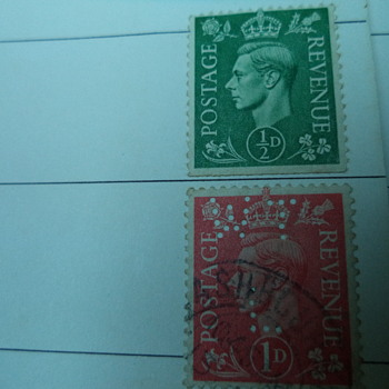 King George VI - Postage Revenue