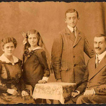 1918 - Family Photograph - Germany - Photographs