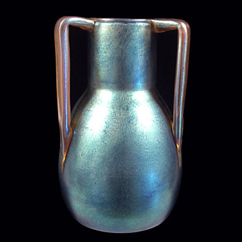 Loetz 3-Handle Shape #9 - Stovepipe - Art Glass