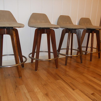 Mid Century Modern Barstools