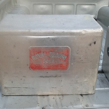 Vintage Rc Cola and Texas Ice Chests - Advertising