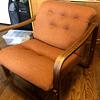 Vintage mid-century modern sling chair