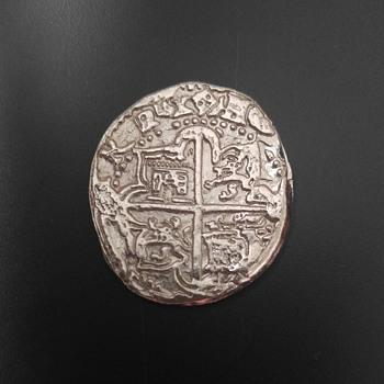 Spanish Cob Coin Shield Type - World Coins
