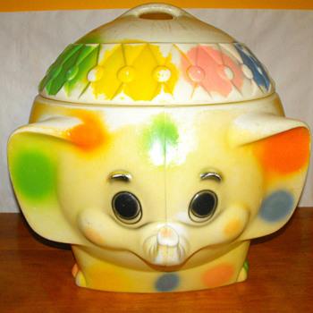 Elephant Toy Box - Toys