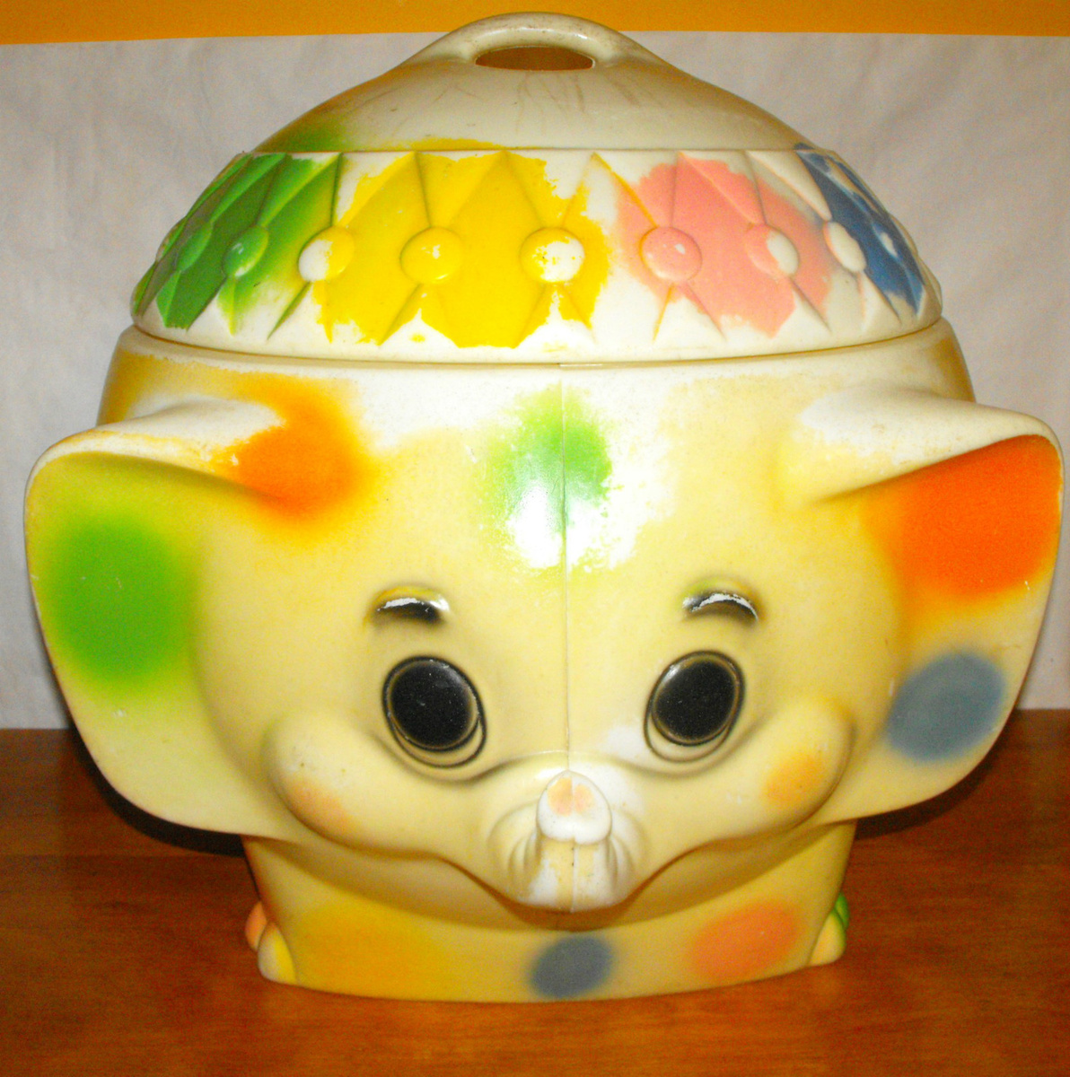 elephant toy box  collectors weekly -