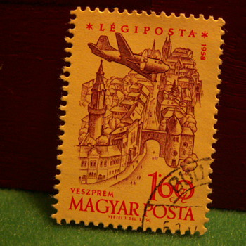 1958 Hungarian Stamp - Stamps
