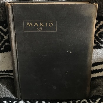 The Makio Ohio State University year book 1905. - Books