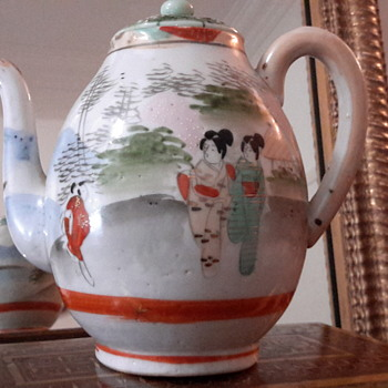 Asian tea pot - Asian