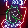Rolling Rock New Jersey - THE SHORE ROCKS - neon sign