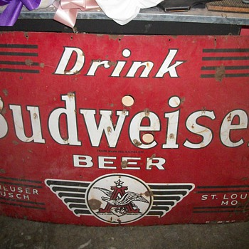 Drink Budweiser Beer - Signs