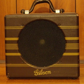 1937 Gibson EH100 amplifier