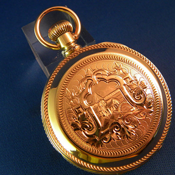 Waltham 14K Gold Huntingcase Pocket Watch - Pocket Watches