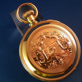 Waltham 14K Gold Huntingcase Pocket Watch - Pocket Watches
