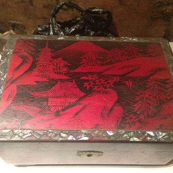 Japanese lacquered jewellery box  - Fine Jewelry