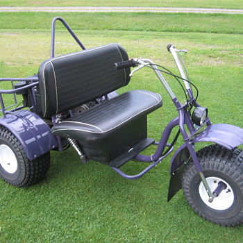 1970's-1980's Carl Heald Super Tryke yard trike minibike - Motorcycles