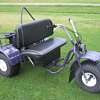 1970's-1980's Carl Heald Super Tryke yard trike minibike