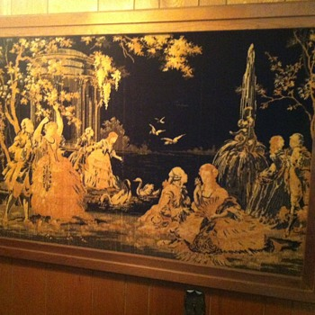 Beautiful Antique English Victorian Wall Tapestry - Looking for Appraiser - Victorian Era